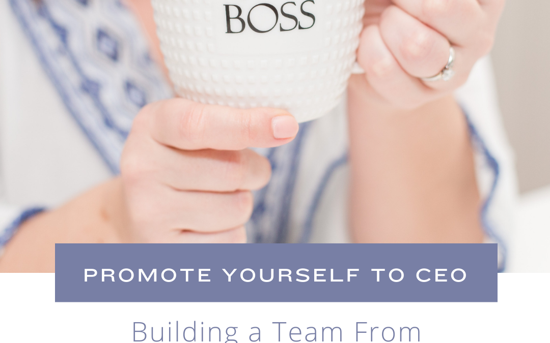Building a Team from a CEO's Perspective