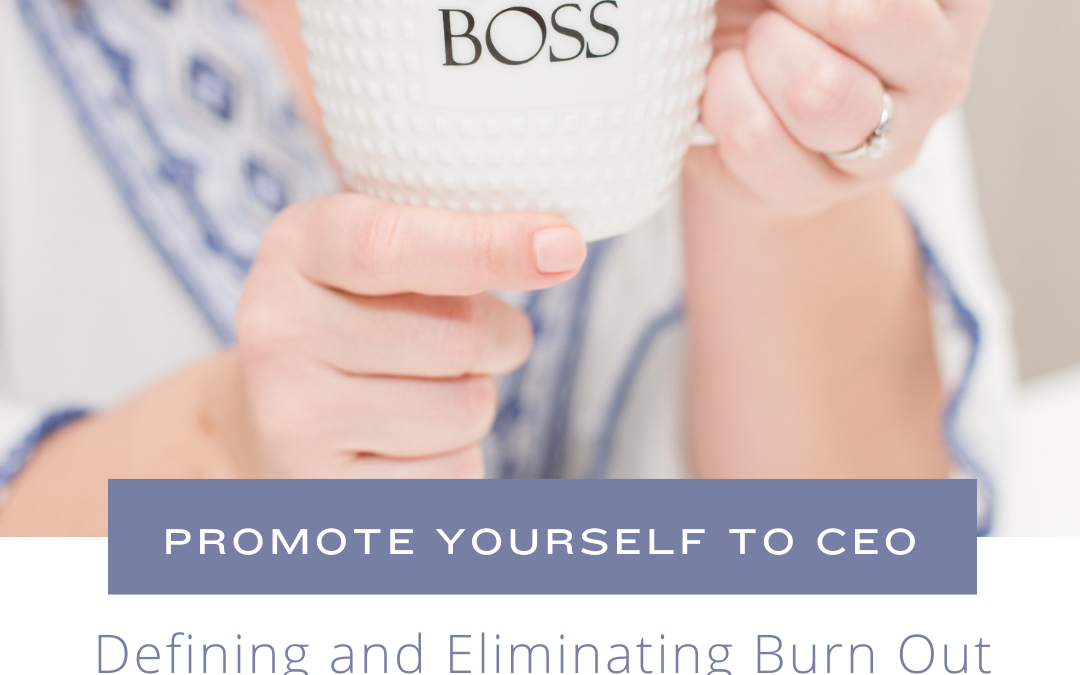 Defining and Eliminating Burn Out with Melissa Marasia