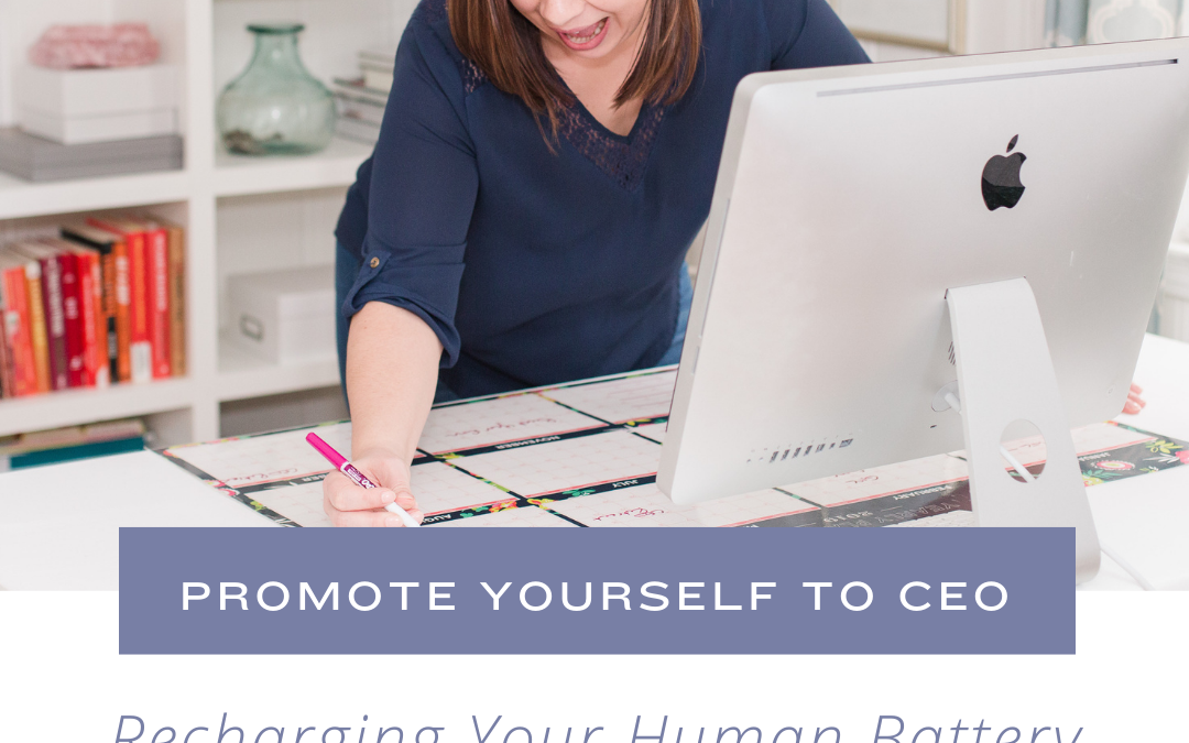 Recharging Your Human Battery with Dr. Crystal Frazee